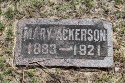 Mary Annis <i>Smith</i> Ackerson