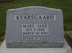 Mary Jane <i>Alden</i> Kyarsgaard