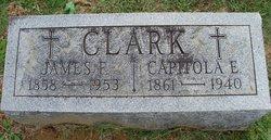 Capitola Elizabeth <i>Clements</i> Clark
