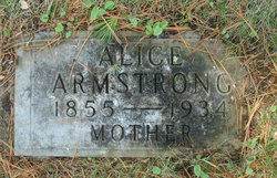 Alice <i>Needham</i> Armstrong