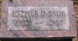 Esther Dorothea Anna <i>Naber</i> Bade