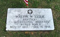 Walter William Leslie