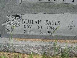 Beulah <i>Sauls</i> Davis
