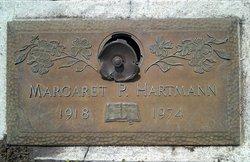 Margaret P Hartmann