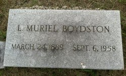 Murriel Norris <i>Miller</i> Boydston