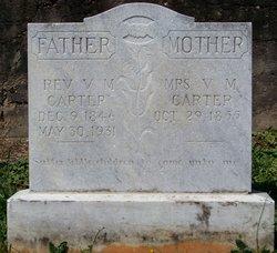 Rev Valentine M Carter
