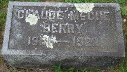 Claude McCue Berry