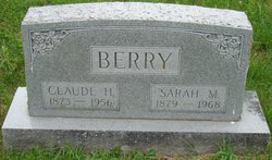 Sarah Frances <i>McCue</i> Berry