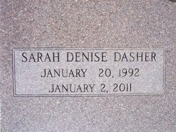 Sarah Denise <i>Dasher</i> Coley