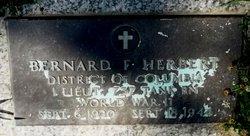 Lieut Bernard F. Herbert