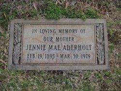 Jennie Mae <i>Lee</i> Aderholt