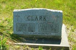 Adelena S <i>Sampson</i> Clark