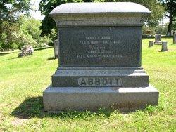 Anna U <i>Stone</i> Abbott