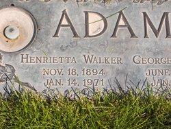 Henrietta <i>Walker</i> Adams