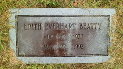 Edith <i>Everhart</i> Beatty