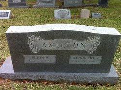 Marguerite E Axelton