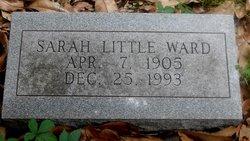 Sarah E <i>Little</i> Ward