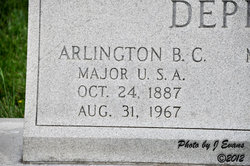 Maj Arlington B C Deppe