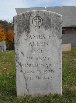 Sgt James F. Allen, Jr