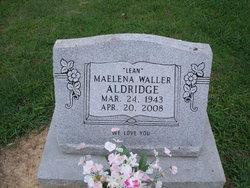 Maelena Lean <i>Waller</i> Aldridge