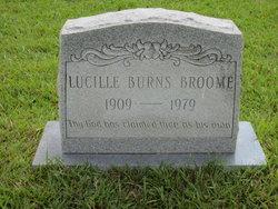 Mamie Lucille <i>Burns</i> Broome