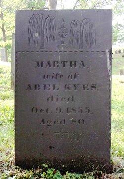Martha <i>Warden</i> Kyes