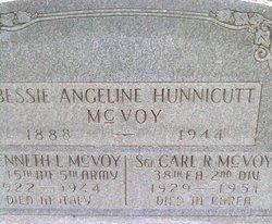 Bessie Angeline <i>Hunnicutt</i> McVoy