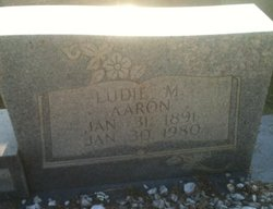 Ludie Almedia <i>McClendon</i> Aaron