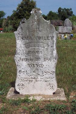 Emma Violet <i>Wilson</i> Gladden