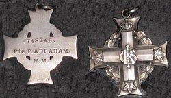 Private Percival Abraham