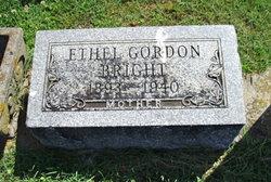 Nellie Ethel <i>Gordon</i> Bright