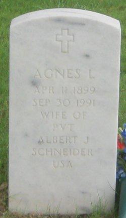 Agnes L <i>Achterberg</i> Schneider