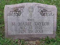 Martha Marie <i>Wagner</i> Taylor