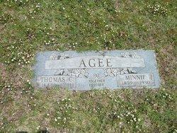 Mary Cathryn Minnie <i>Thomas</i> Agee
