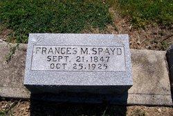 Frances m Spayd