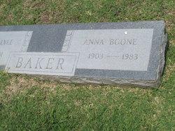 Anna <i>Boone</i> Baker