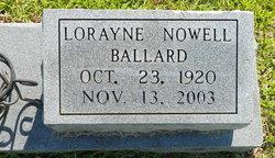 Hilda Lorayne <i>Nowell</i> Ballard
