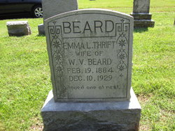 Emma L <i>Thrift</i> Beard