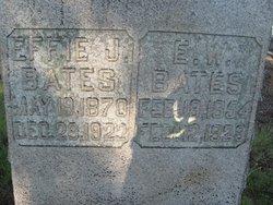 Effie <i>Irwin</i> Bates