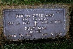 Mrs Ruby Mae <i>Carter</i> Copeland