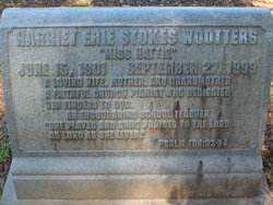 Hattie <i>Stokes</i> Wootters