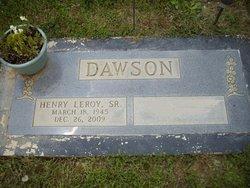 Henry Leroy Dawson, Sr