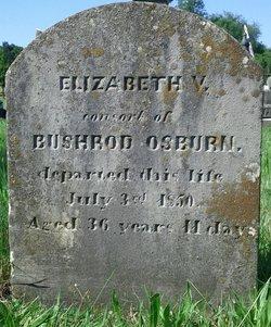 Elizabeth V. <i>Clowes</i> Osburn