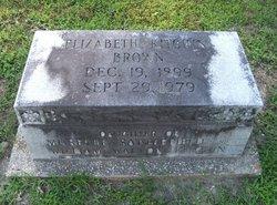 Elizabeth <i>Kitchin</i> Brown