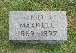Harry H Maxwell