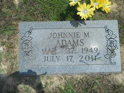 Johnnie Michael Adams