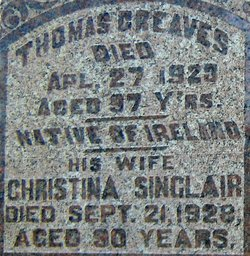 Christina <i>Sinclair</i> Greaves