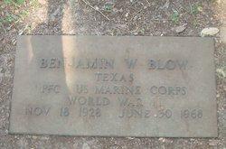 Benjamin W Blow