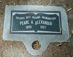 Pearl Alice <i>Shields</i> Alexander