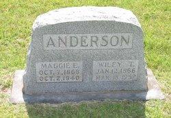 Maggie <i>Lockert</i> Anderson